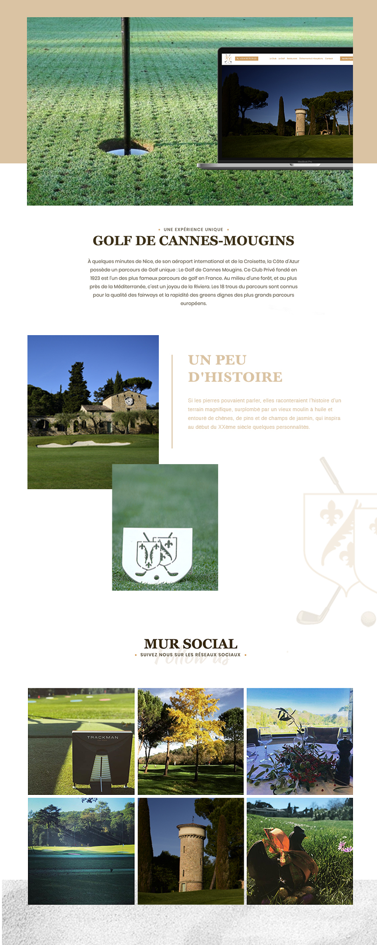 golf cannes mougins